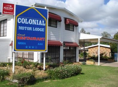 Colonial Motor Lodge - Accommodation Adelaide