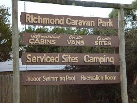 Richmond Cabin  Tourist Park - Accommodation Adelaide