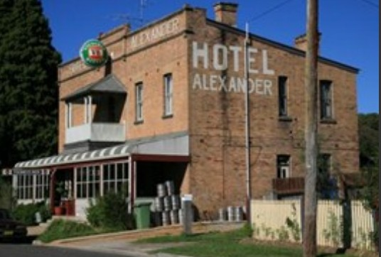 Alexander Hotel Rydal - Accommodation Adelaide