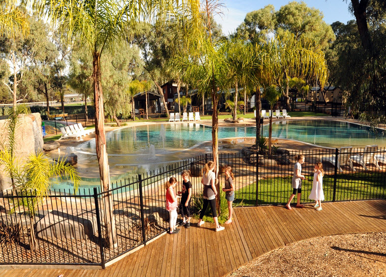 BIG4 Renmark Riverfront Caravan Park - Accommodation Adelaide
