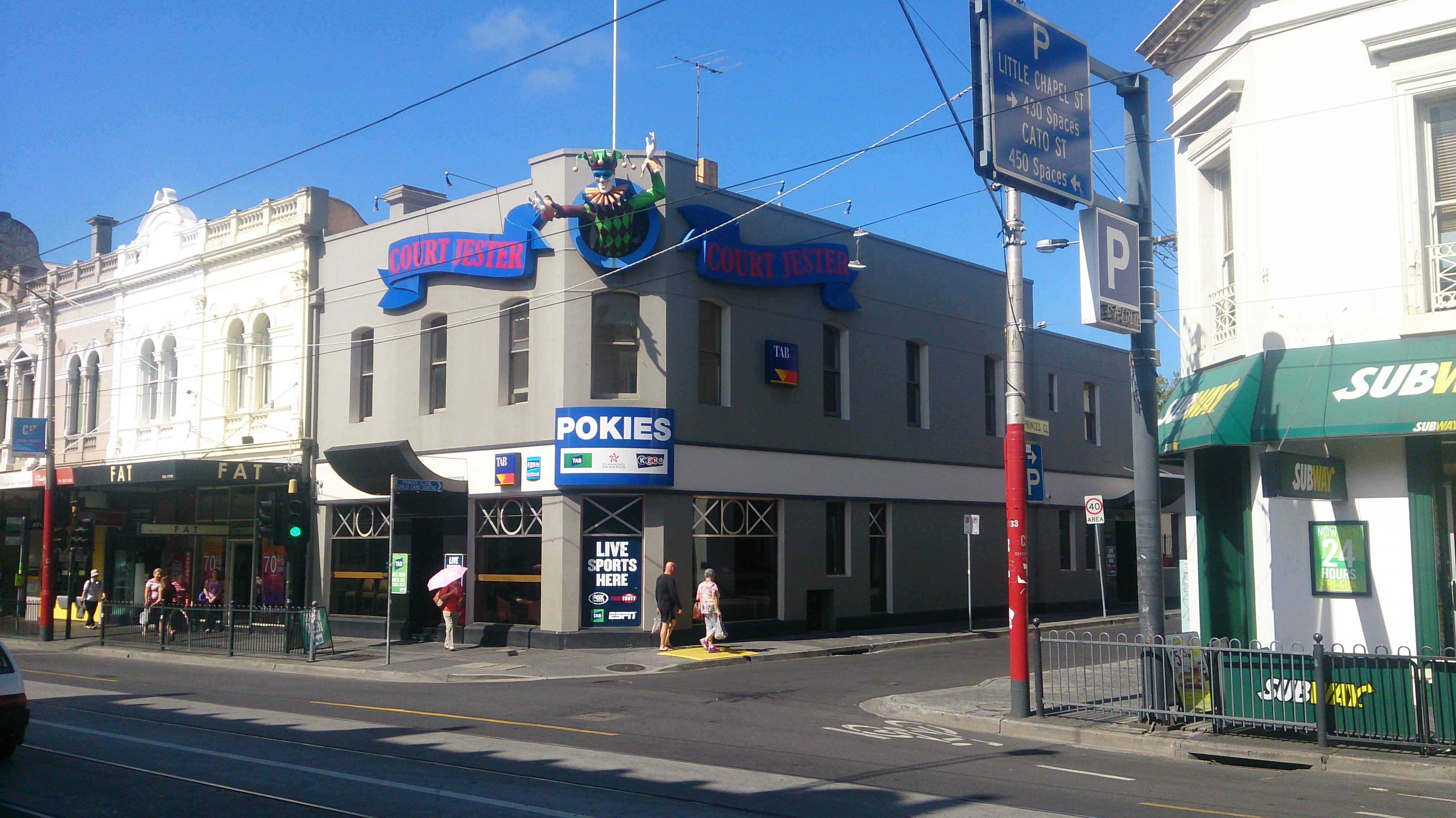 Court Jester Hotel - Accommodation Adelaide