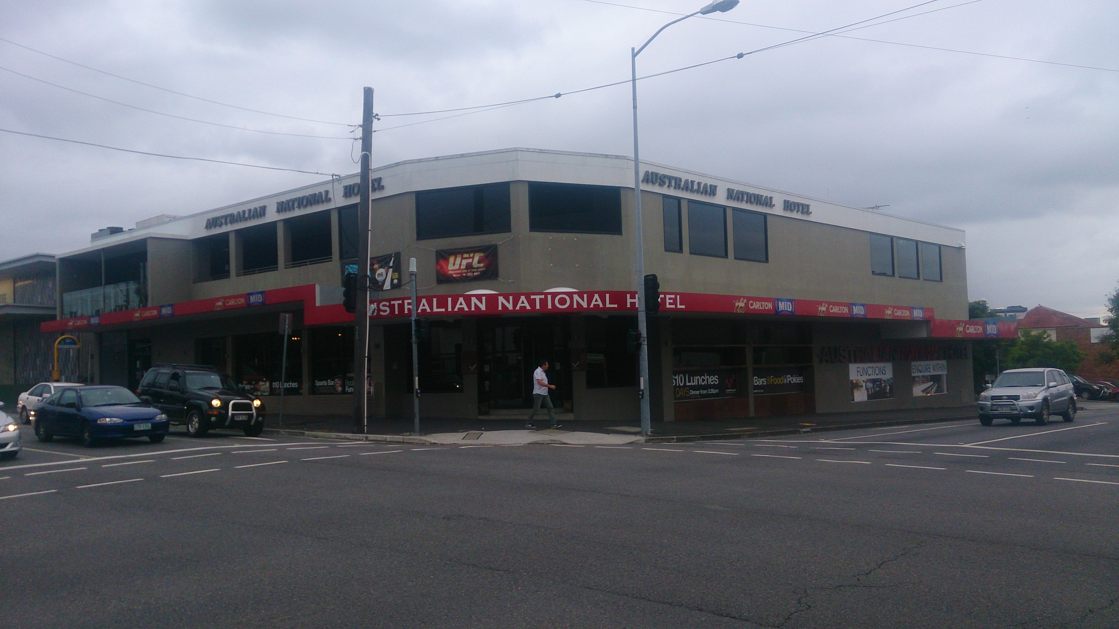 Australian National Hotel - Accommodation Adelaide