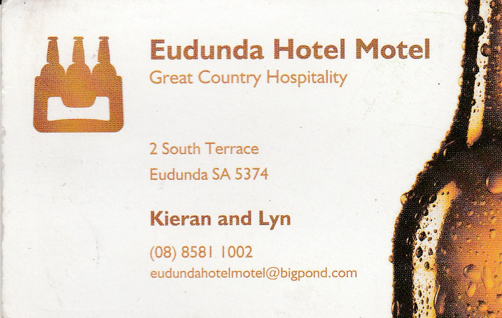 Eudunda Hotel Motel - Accommodation Adelaide