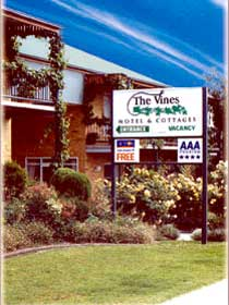 The Vines - Accommodation Adelaide