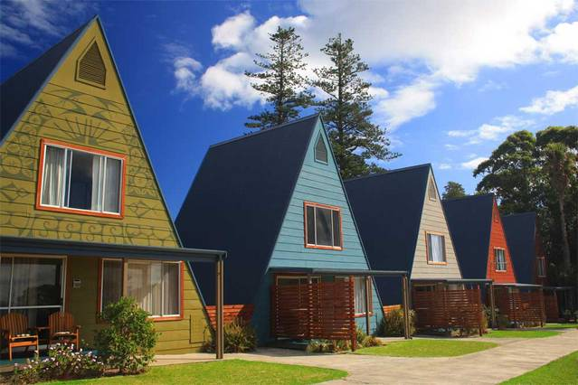 A-Frame Chalets  Mokutu - Accommodation Adelaide