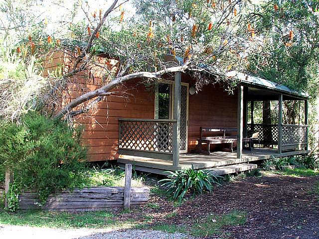 Jervis Bay Cabins  Hidden Creek Real Camping - Accommodation Adelaide
