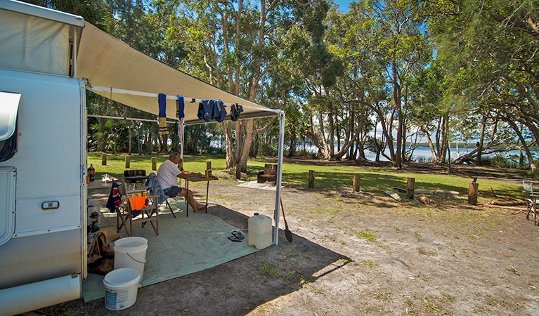 Dees Corner campground - Accommodation Adelaide