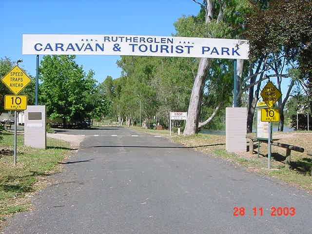 Rutherglen Caravan  Tourist Park - Accommodation Adelaide