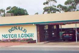 DONALD MOTOR LODGE - Accommodation Adelaide