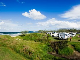 Noosa North Shore Beach Campground