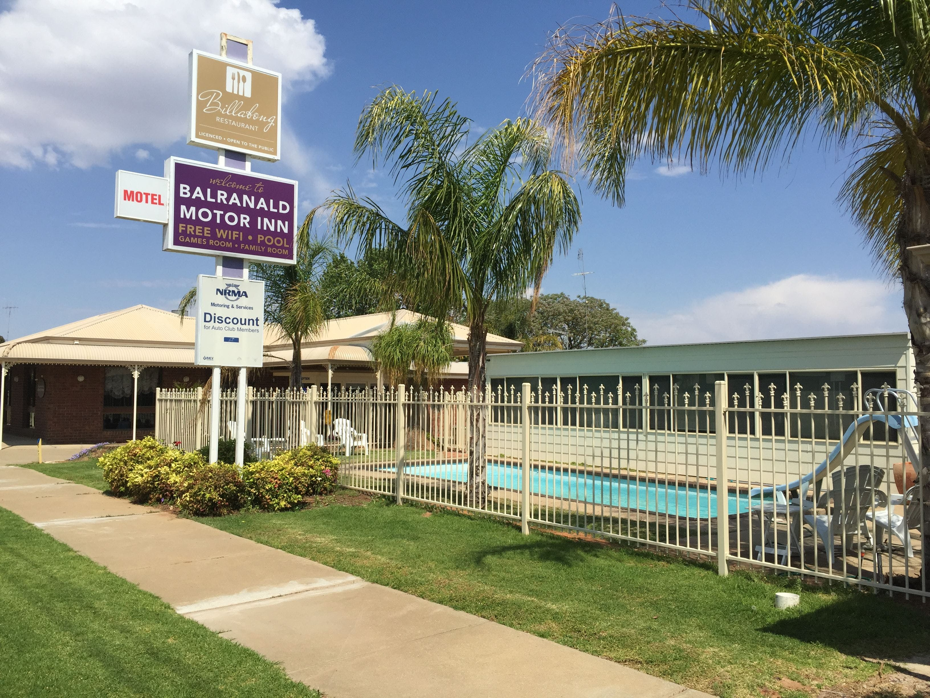Balranald Motor Inn - Accommodation Adelaide