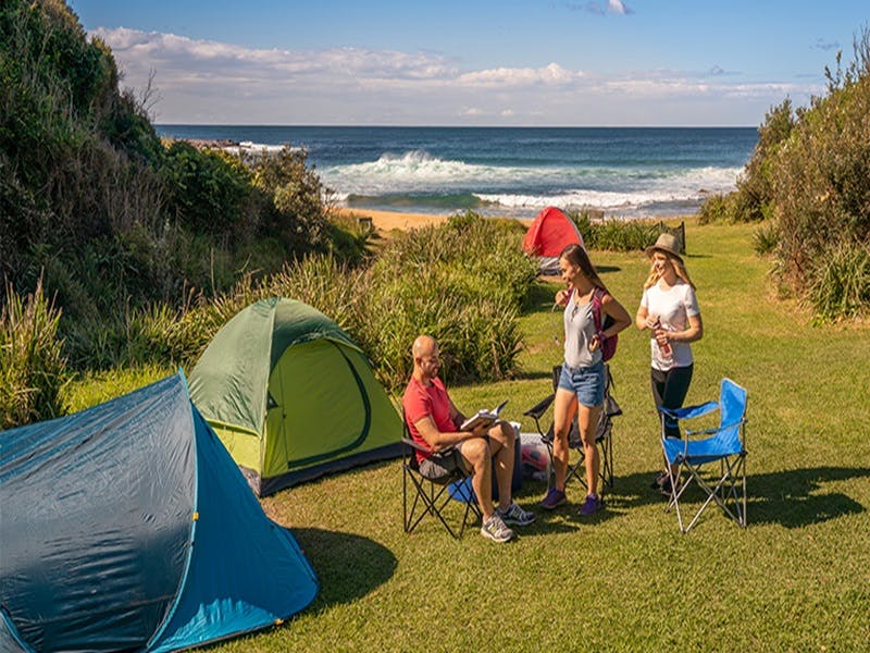 Little Beach campground - Accommodation Adelaide