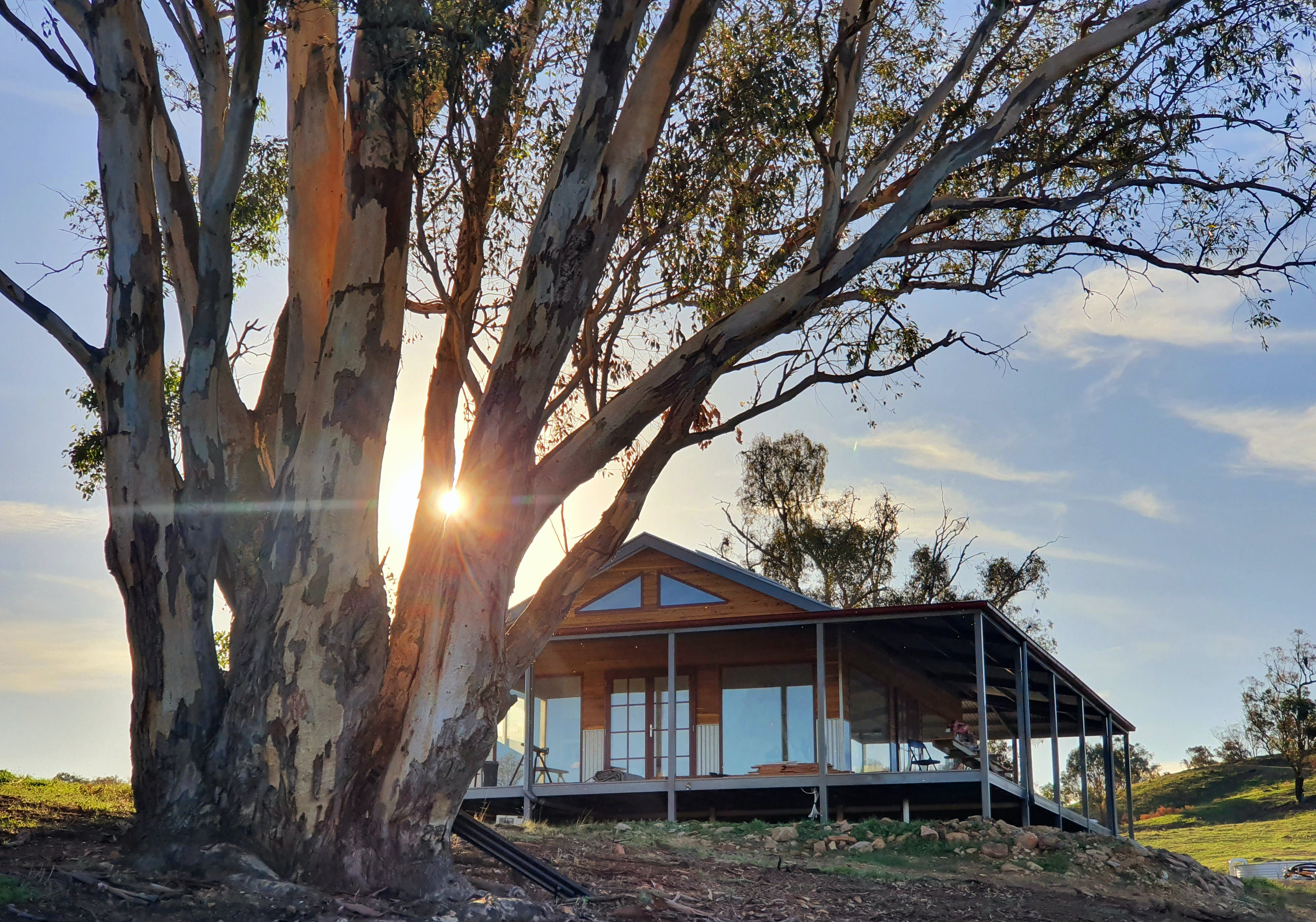 Kestrel Nest EcoHut - Accommodation Adelaide