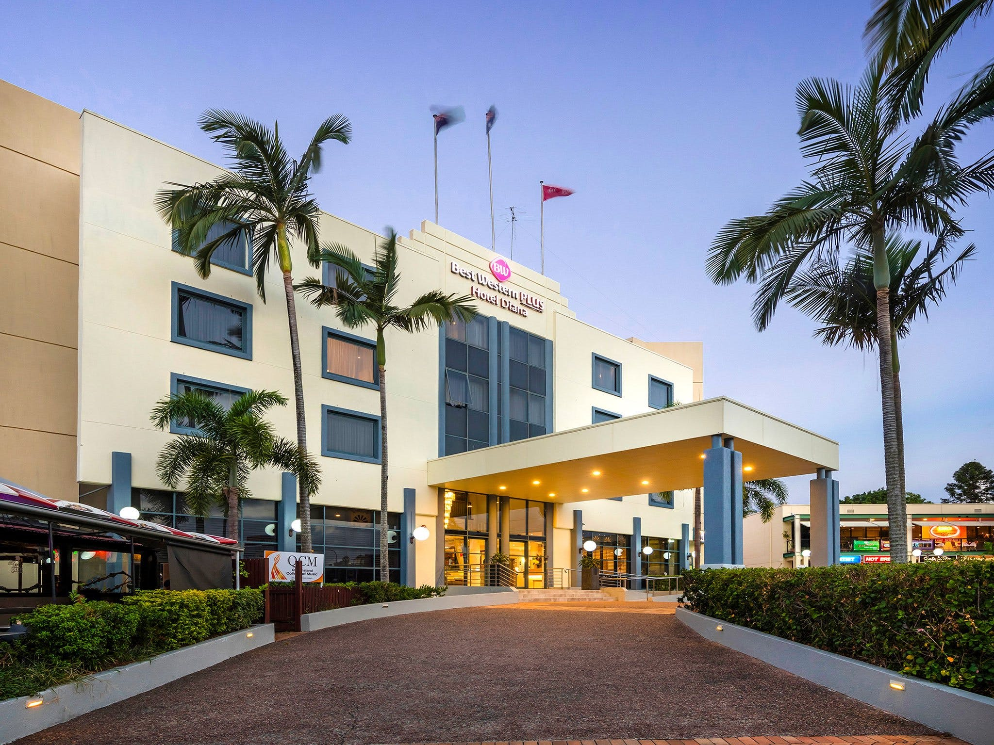Best Western Plus Hotel Diana - Accommodation Adelaide