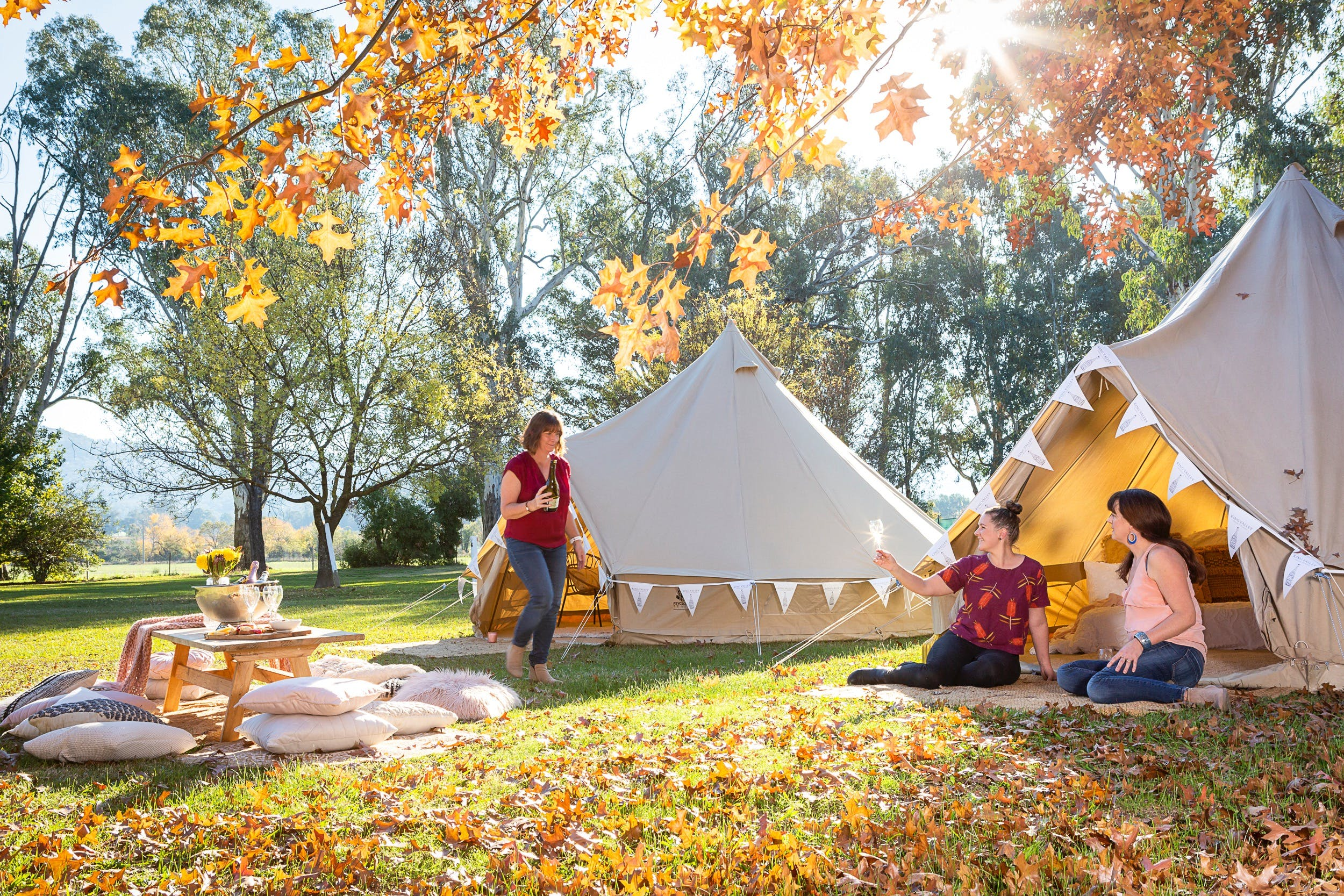 Valley View Glamping - Accommodation Adelaide