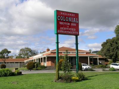 Ballarat Colonial Motor Inn - Accommodation Adelaide