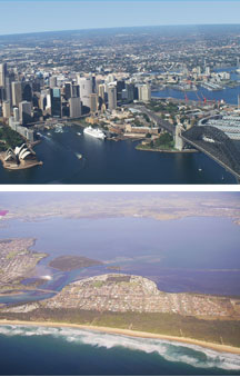 Sydney By Air - Accommodation Adelaide