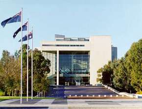 High Court of Australia Parkes Place - Accommodation Adelaide