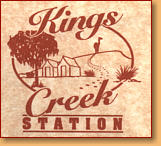 Kings Creek Station - Accommodation Adelaide