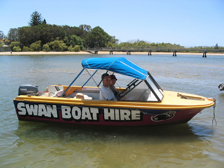 Swan Boat Hire - Accommodation Adelaide