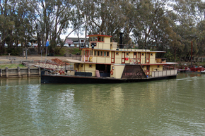 Emmylou Paddle Steamer - Accommodation Adelaide
