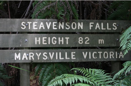Stevensons Falls - Accommodation Adelaide