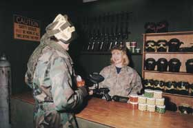 Indoor Skirmish - Paintball Sports - Accommodation Adelaide