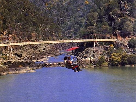 Launceston Cataract Gorge  Gorge Scenic Chairlift - Accommodation Adelaide