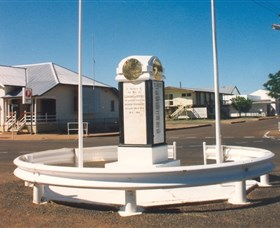 Cloncurry War Memorial - Accommodation Adelaide