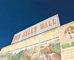 Ben Hall Wall - Accommodation Adelaide