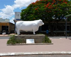 Aramac - The White Bull - Accommodation Adelaide