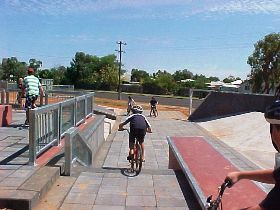 Charleville - Skate Park - Accommodation Adelaide