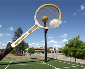 Barellans Big Tennis Racquet - Accommodation Adelaide