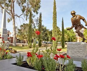 Private Robert Mactier Statue - Accommodation Adelaide