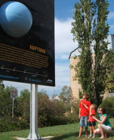 Worlds Largest Virtual Solar System Drive - Accommodation Adelaide