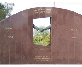 Cowra Italy Friendship Monument - Accommodation Adelaide