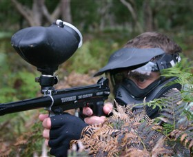 Tactical Paintball Games