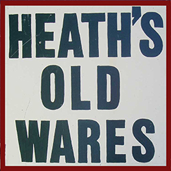 Heaths Old Wares Collectables  Industrial Antiques - Accommodation Adelaide