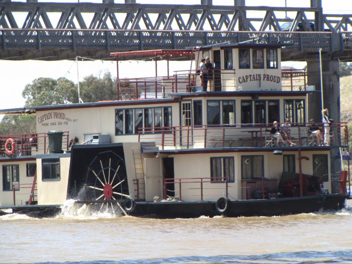 Captain Proud Paddleboat Cruises - Accommodation Adelaide