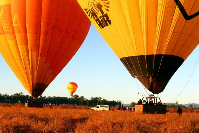 Hot Air Balloon Scenic Rim - Accommodation Adelaide