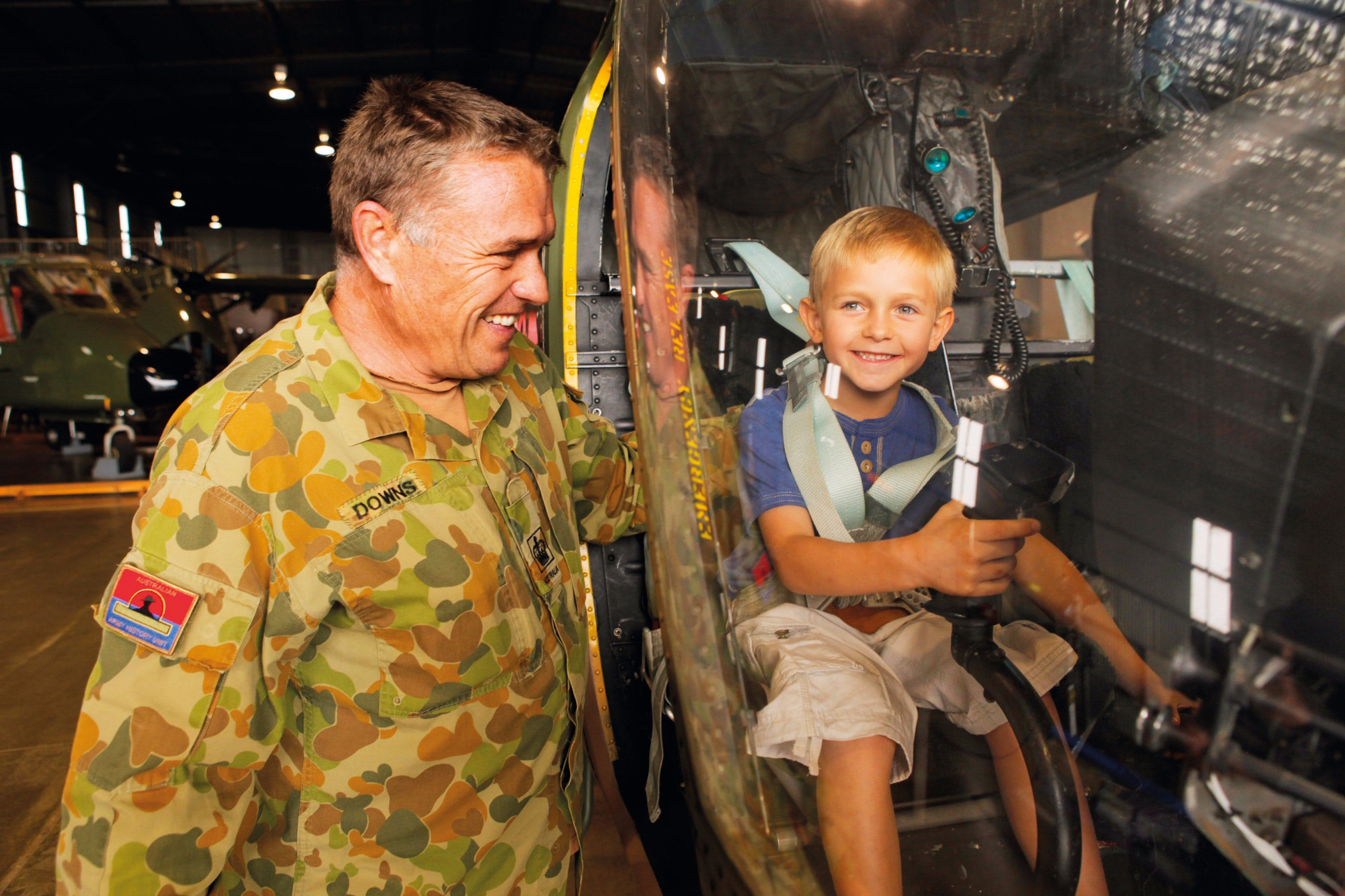 Australian Army Flying Museum - Accommodation Adelaide