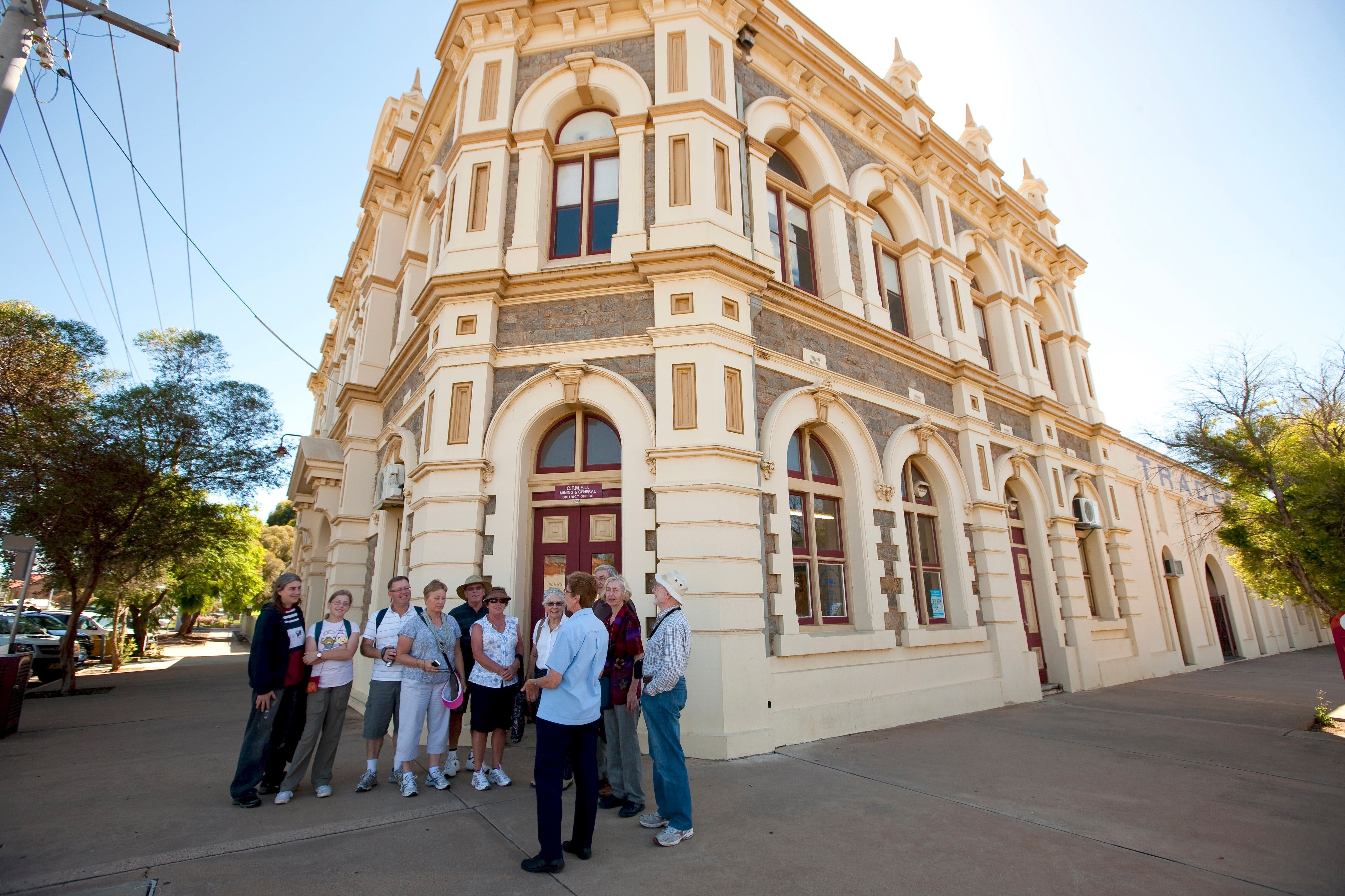 Broken Hill Heritage Walk Tour - Accommodation Adelaide