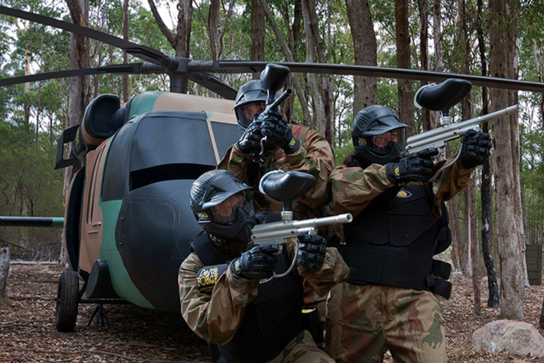 Delta Force Paintball Appin - Accommodation Adelaide