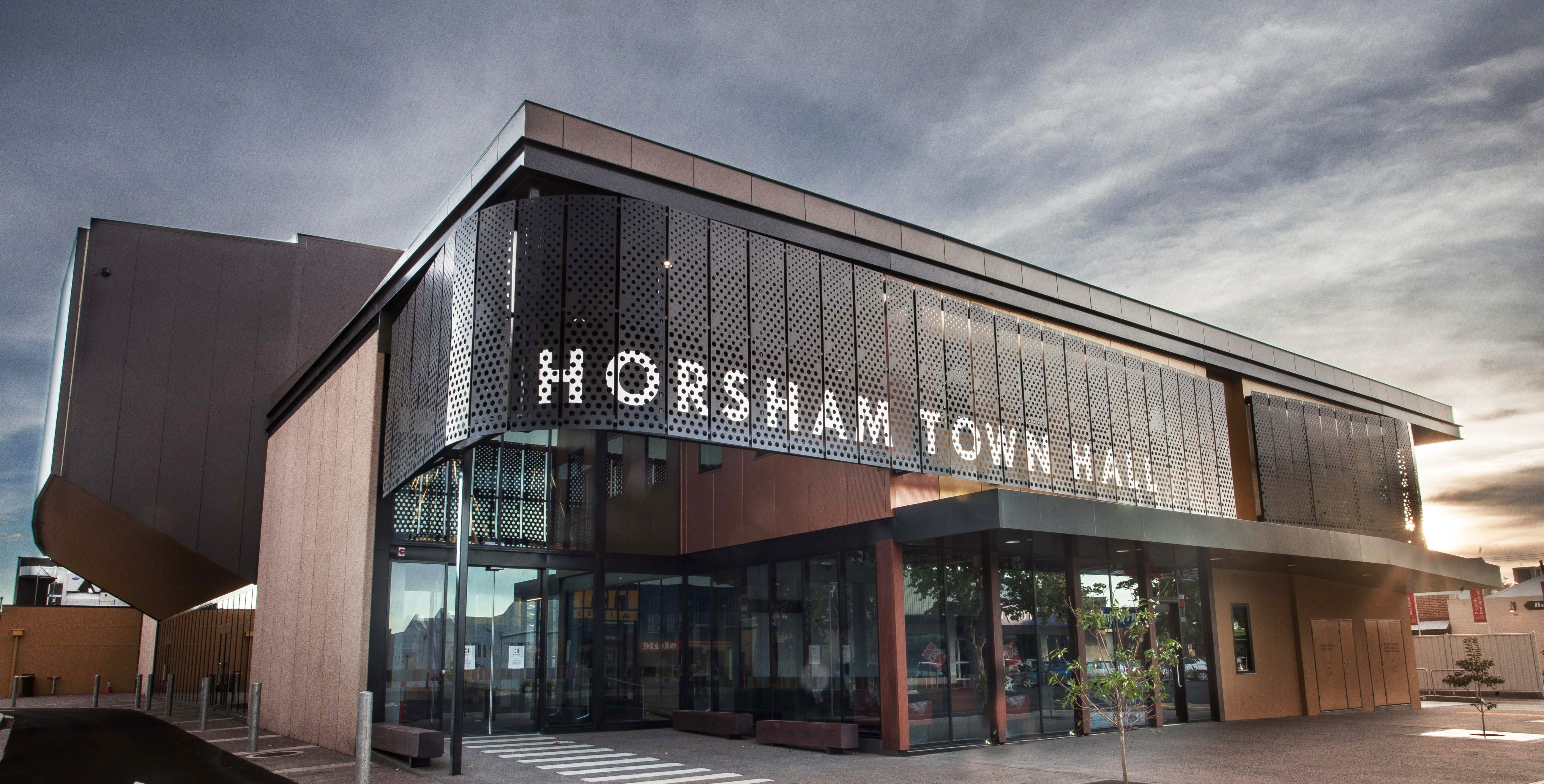 Horsham Town Hall  Regional Art Gallery - Accommodation Adelaide