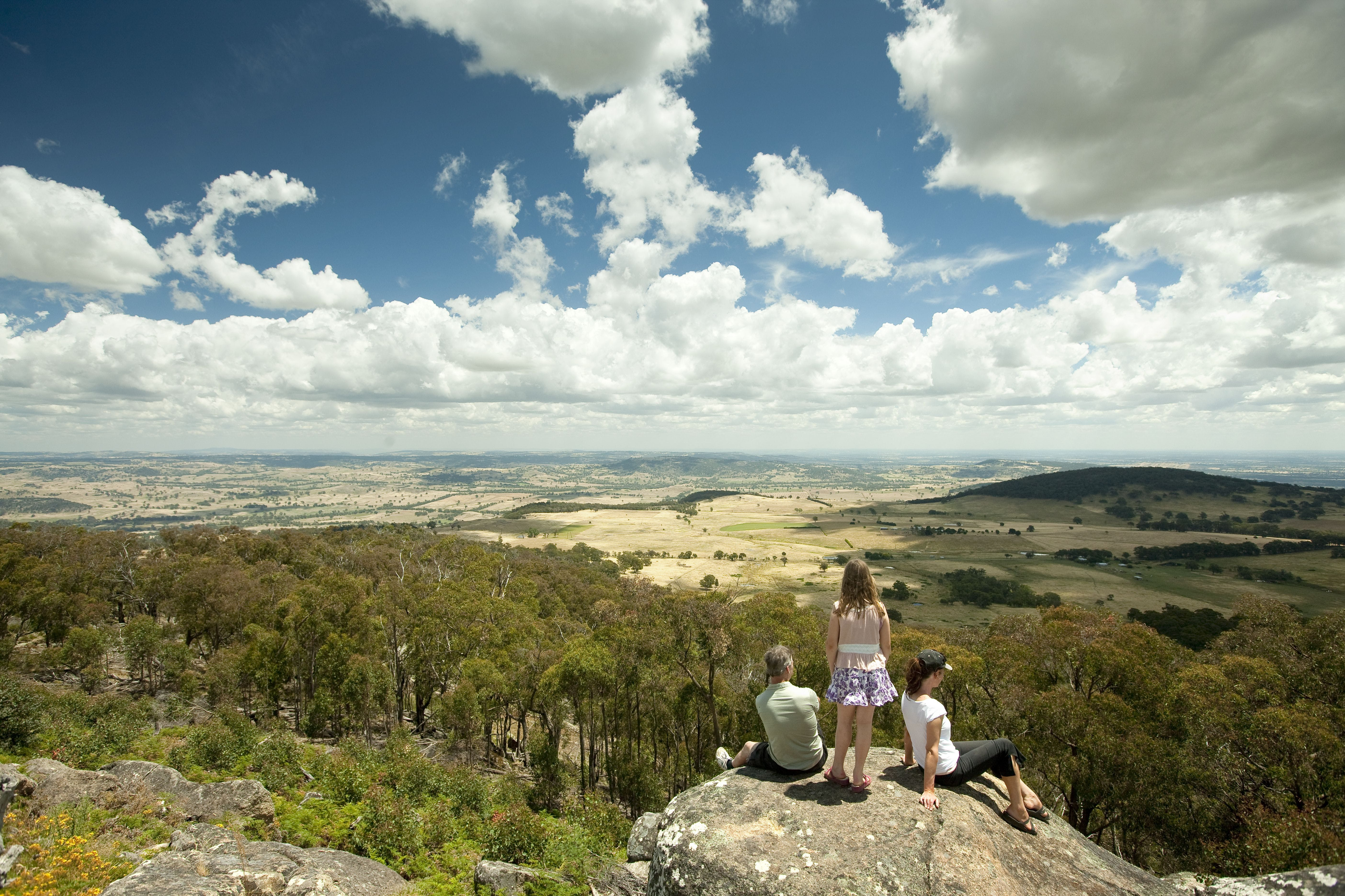 Mt Wombat Lookout - Accommodation Adelaide