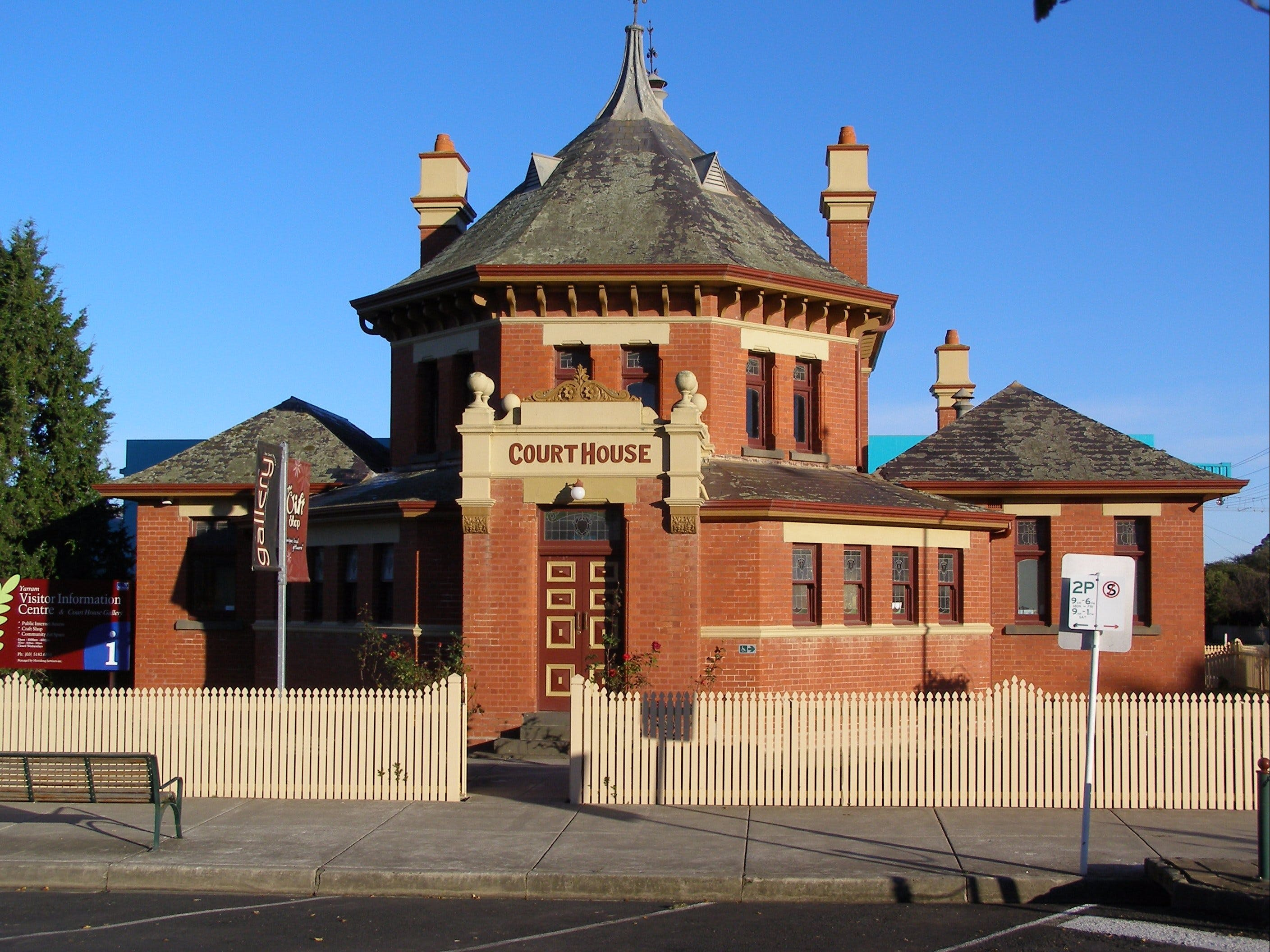 Yarram Courthouse Gallery - Accommodation Adelaide
