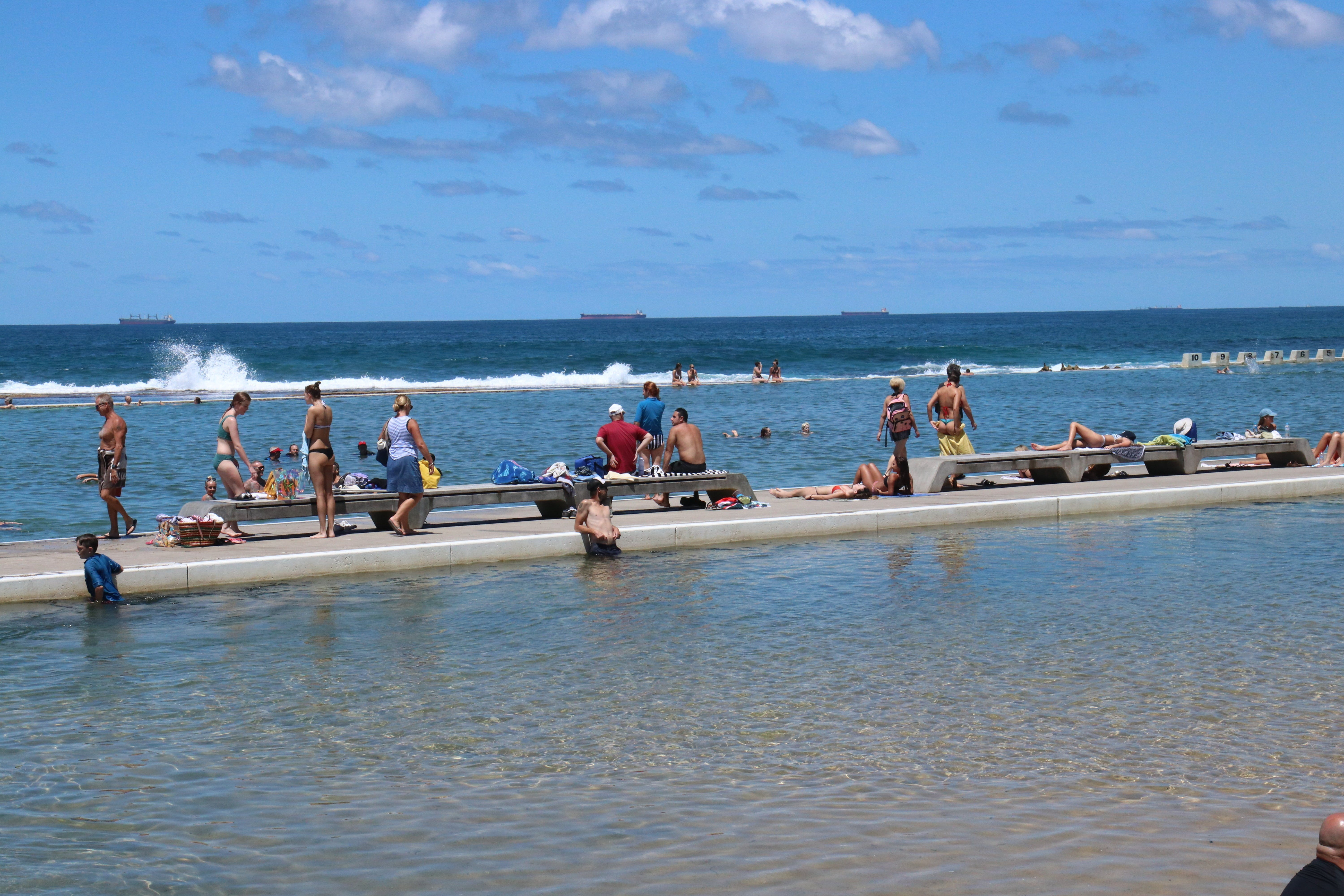 Merewether Ocean Baths - Accommodation Adelaide