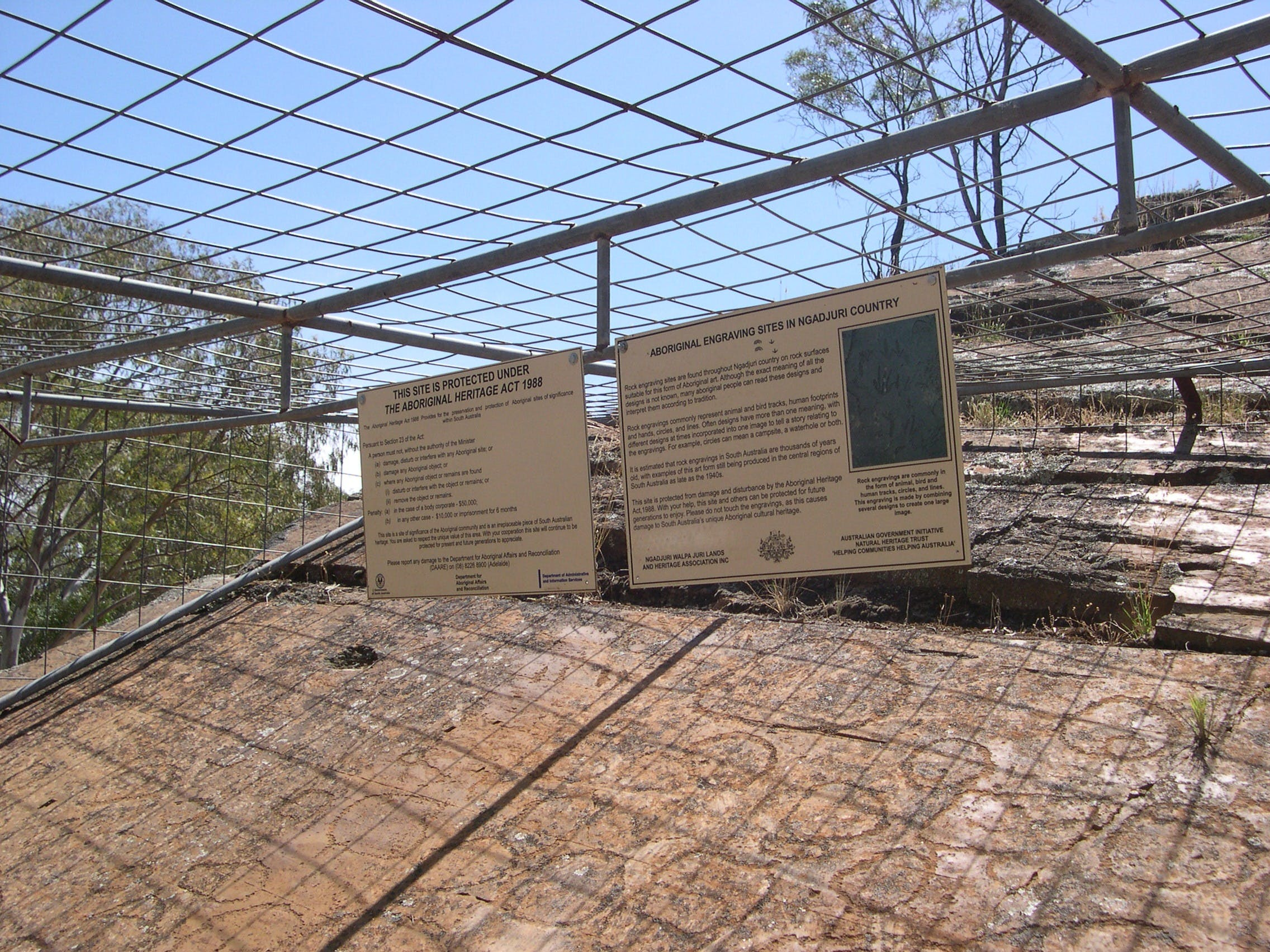 Aboriginal Carvings - Accommodation Adelaide