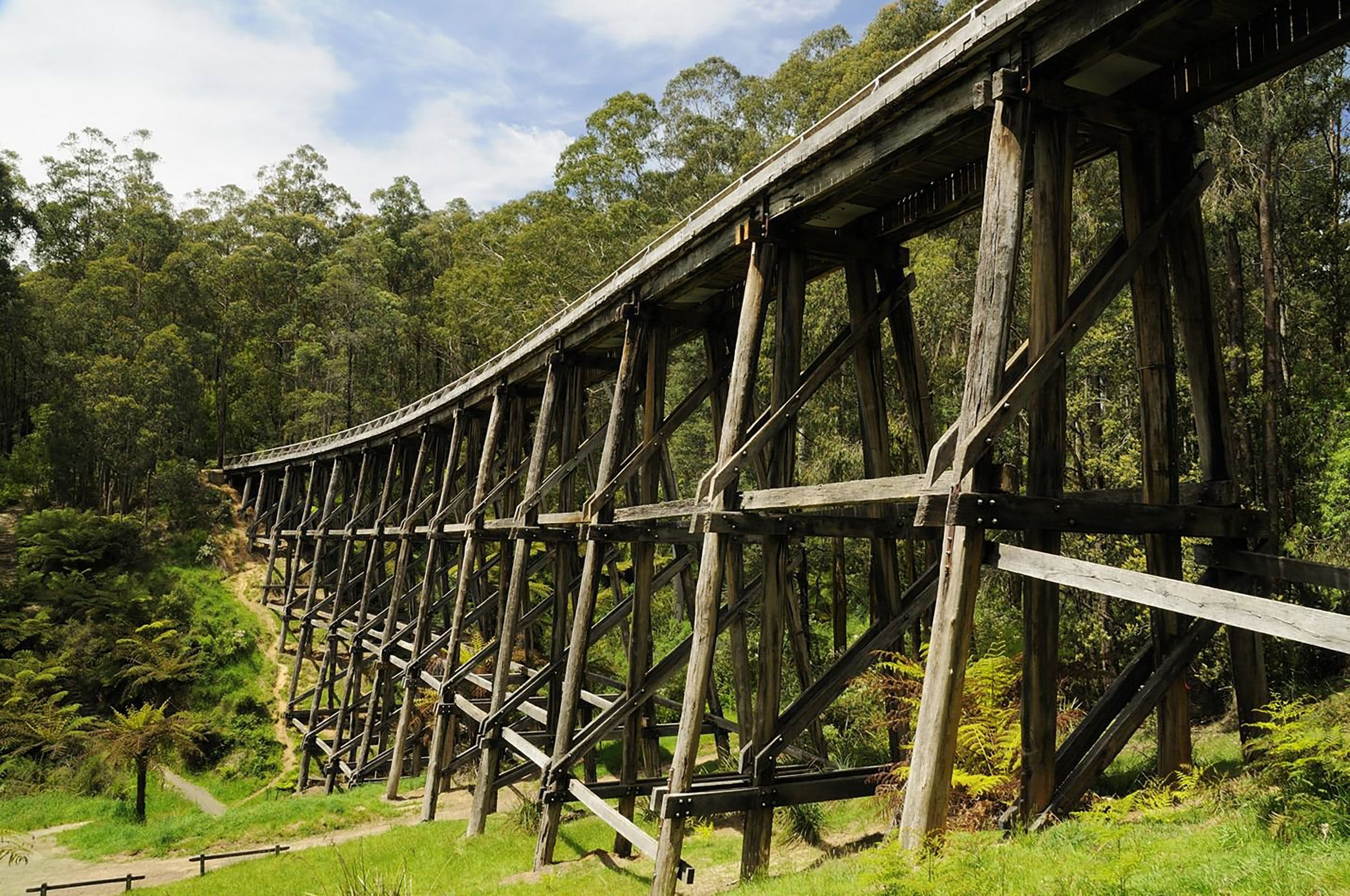 Noojee Trestle Bridge - Accommodation Adelaide