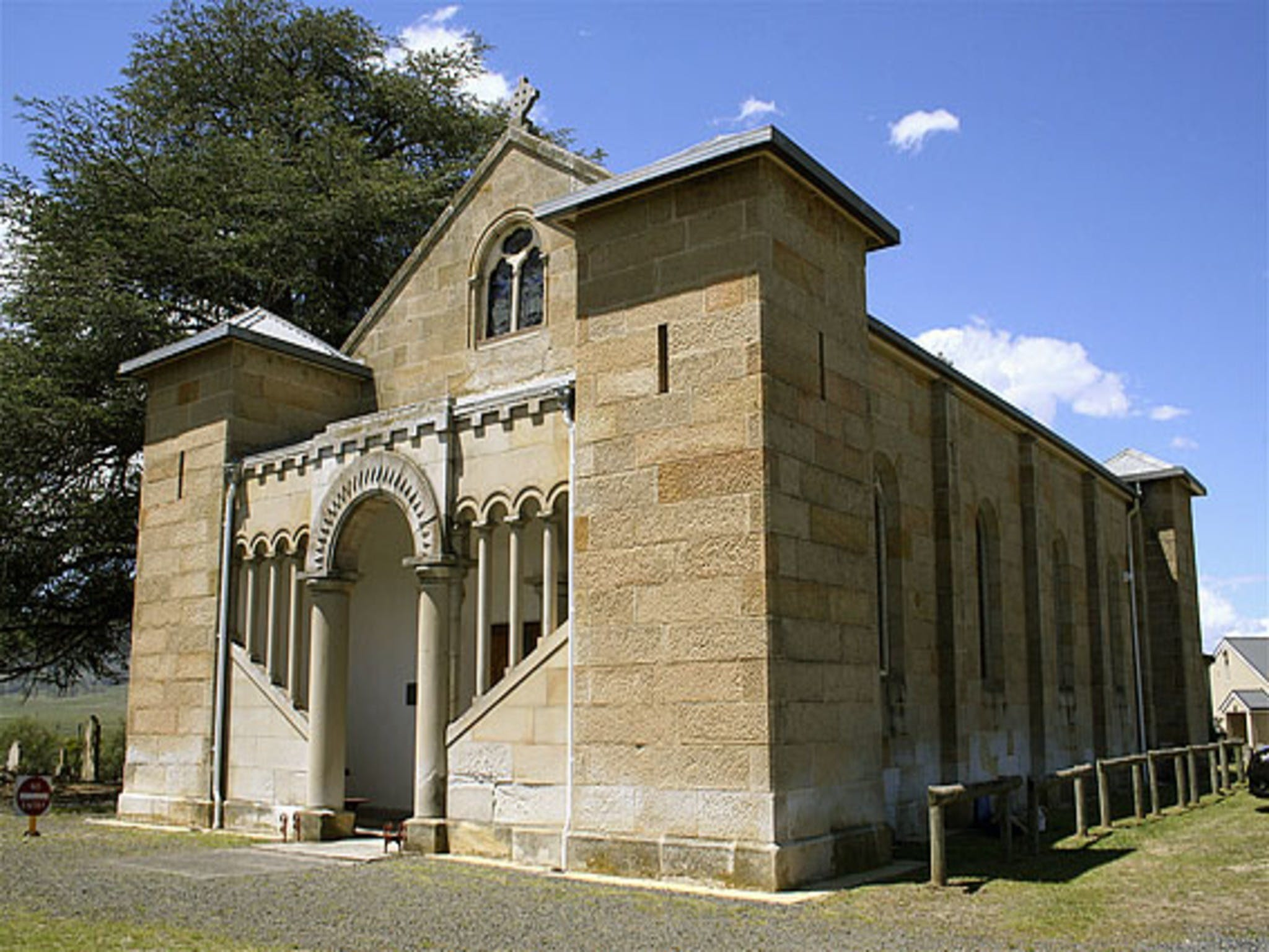 St Mark's Church Pontville - Accommodation Adelaide
